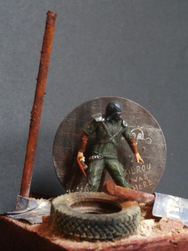 Post apocalyptic warrior - figurine Maim 1/35 (FINI) P1290010