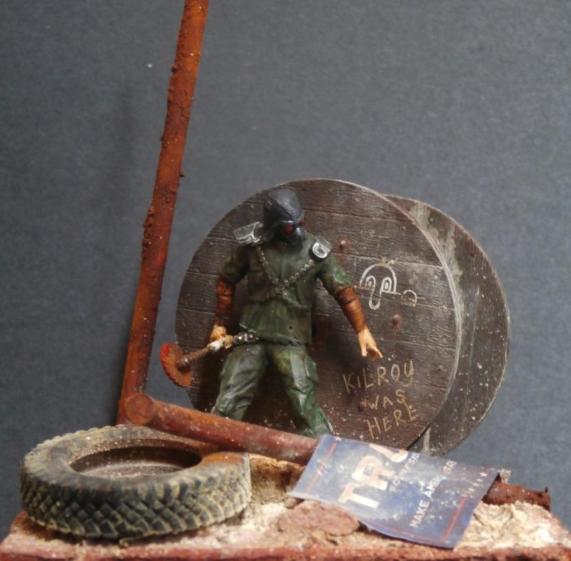 Post apocalyptic warrior - figurine Maim 1/35 (FINI) P1290011