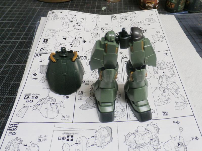 AMS-129 Geara Zulu 1/144 Bandai (FINI) P2150013