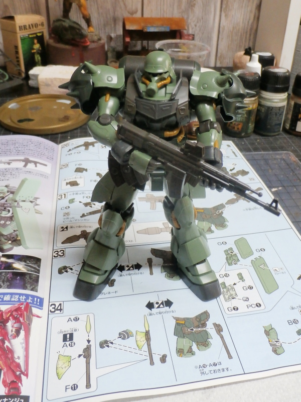 AMS-129 Geara Zulu 1/144 Bandai (FINI) P2150014