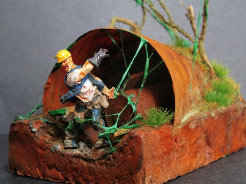 L'abri - figurine zombicide (FINI) P2210010