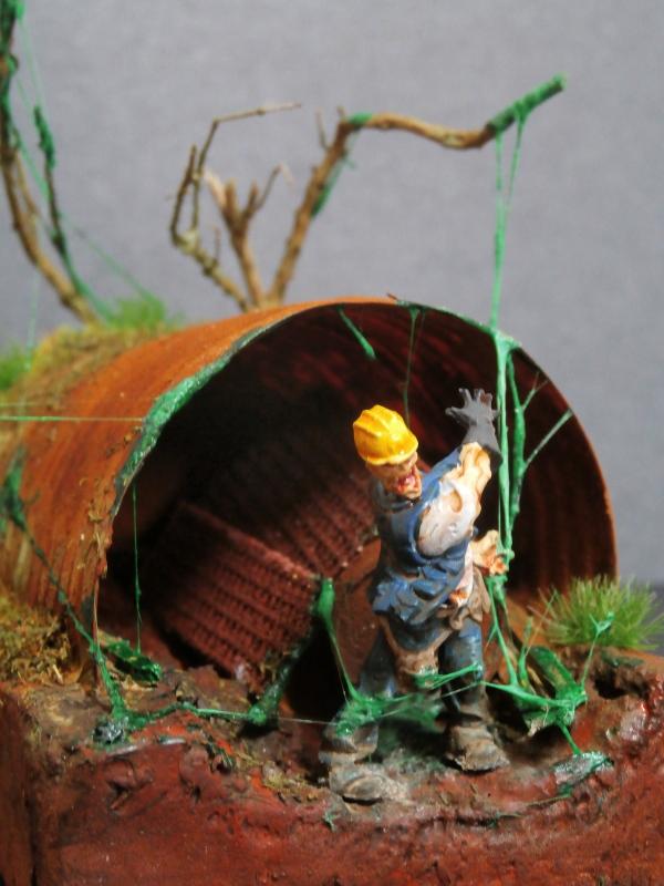 L'abri - figurine zombicide (FINI) P2210011