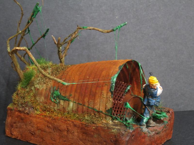 L'abri - figurine zombicide (FINI) P2210013