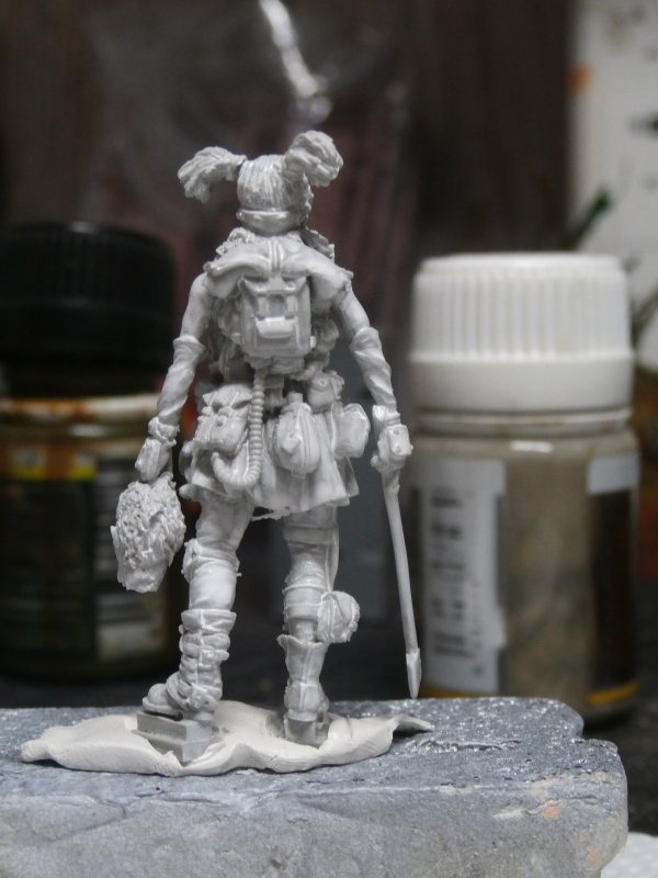 Partie de chasse - Figurine Kellerkind Miniaturen (FINI) P2220011