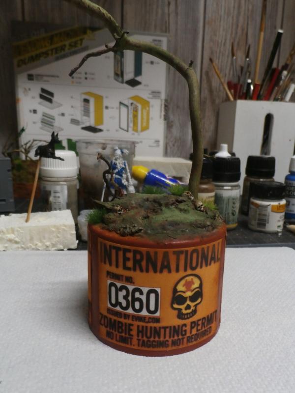 Partie de chasse - Figurine Kellerkind Miniaturen (FINI) P2220014