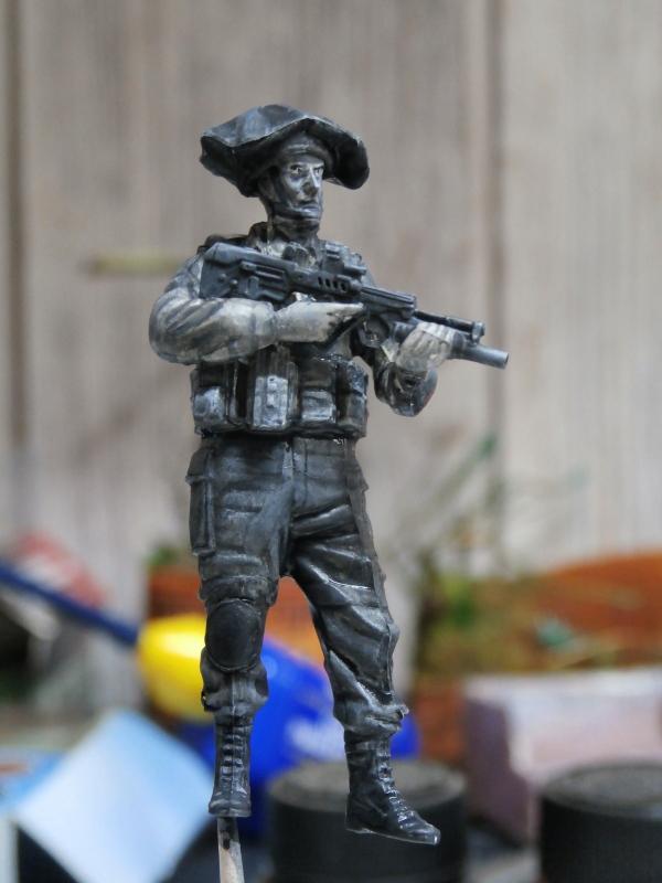 Défi noir & blanc : Palestine - figurine Meng + figurine MB 1/35 *** Terminé en pg 1 P2270010