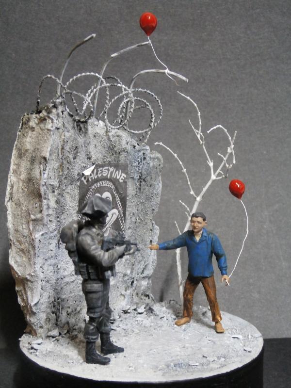 Défi noir & blanc : Palestine - figurine Meng + figurine MB 1/35 *** Terminé en pg 1 P3010013