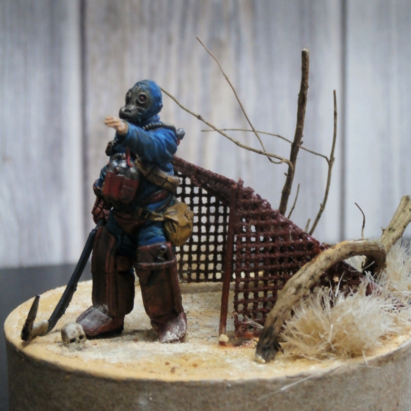"""The keeper"" figurine Kellerkind Miniaturen 1/35 (FINI) P3050015"