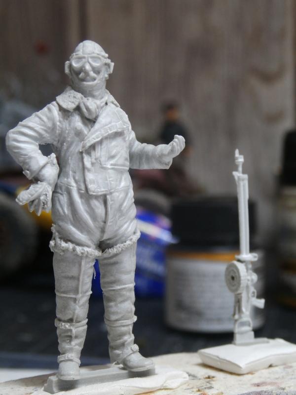 Pilote RFC figurine Kellerkind Miniaturen 1/32 (FINI) P3070010
