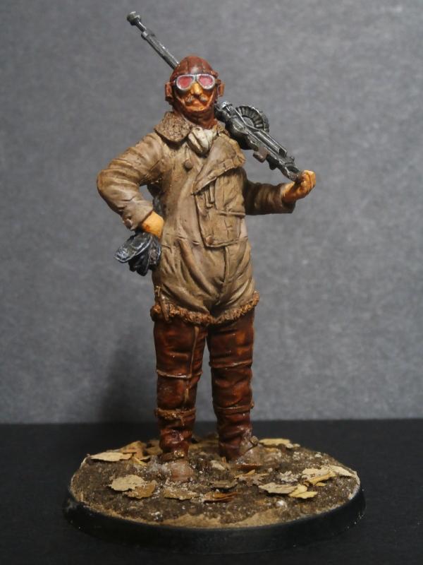 Pilote RFC figurine Kellerkind Miniaturen 1/32 (FINI) P3080016