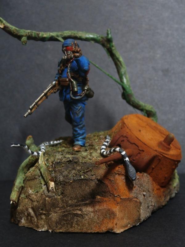 """""""Sniper"""" Figurine Kellerkind Miniaturen 1/35 (FINI) P3110015"""