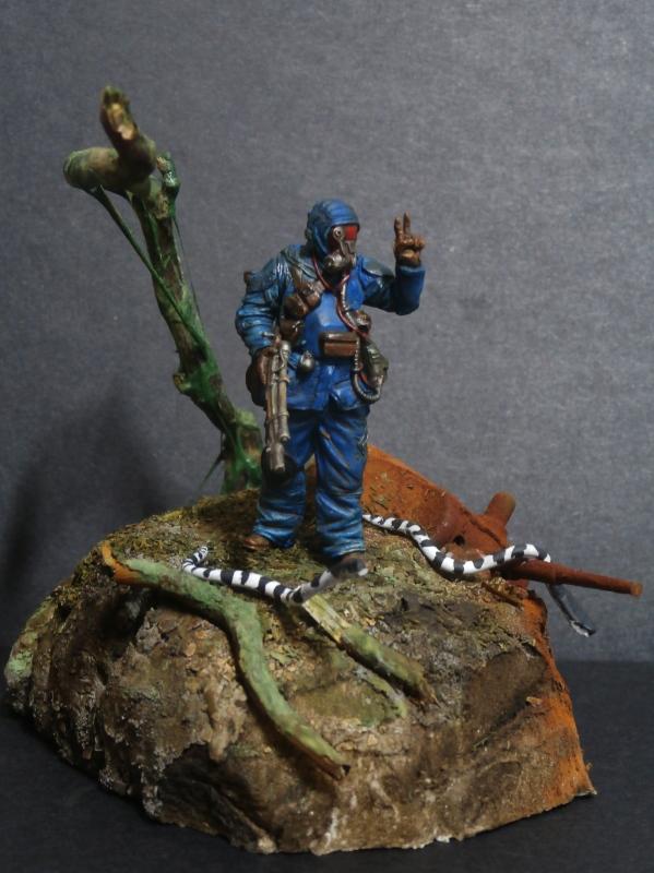 """""""Sniper"""" Figurine Kellerkind Miniaturen 1/35 (FINI) P3110016"""
