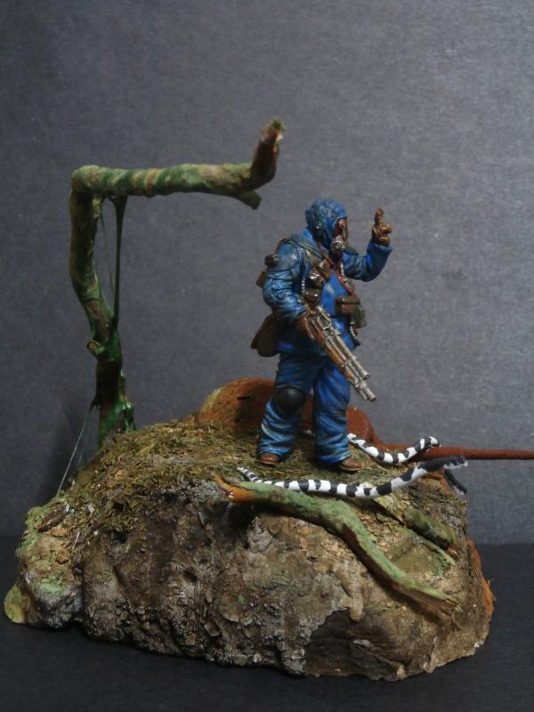 """""""Sniper"""" Figurine Kellerkind Miniaturen 1/35 (FINI) P3110018"""