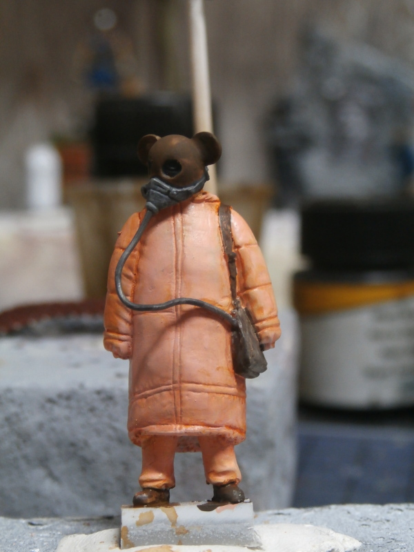 """Enfants du futur"" figurines Alternity Miniatures 1/35 (FINI) P3120011"