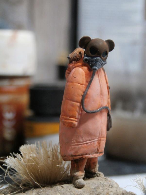 """Enfants du futur"" figurines Alternity Miniatures 1/35 (FINI) P3130011"