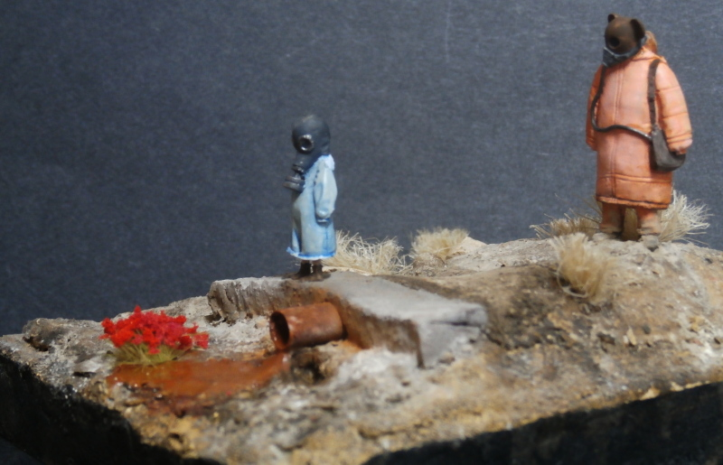 """Enfants du futur"" figurines Alternity Miniatures 1/35 (FINI) P3140023"