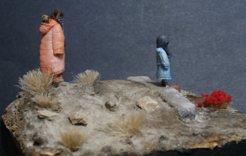 """Enfants du futur"" figurines Alternity Miniatures 1/35 (FINI) P3140025"