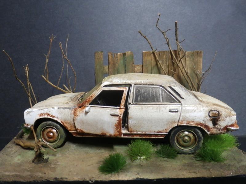 Peugeot 504 abandonnée - diecast Welly (FINI) P3180011