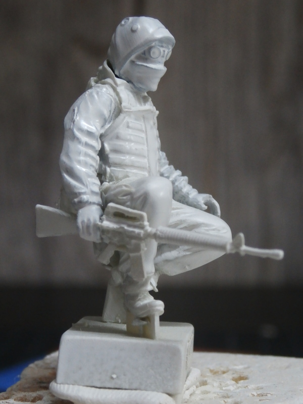 """""""Le guetteur"""" figurine Mig modifiée 1/35 (FINI) P3240011"""