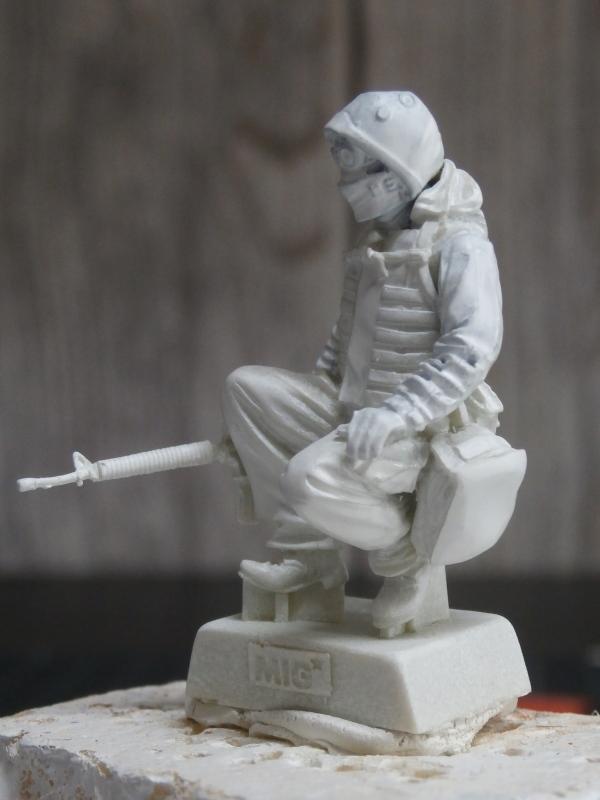 """""""Le guetteur"""" figurine Mig modifiée 1/35 (FINI) P3240012"""
