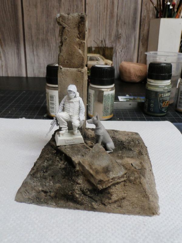 """""""Le guetteur"""" figurine Mig modifiée 1/35 (FINI) P3290011"""