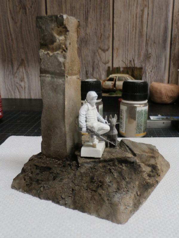"""""""Le guetteur"""" figurine Mig modifiée 1/35 (FINI) P3290012"""