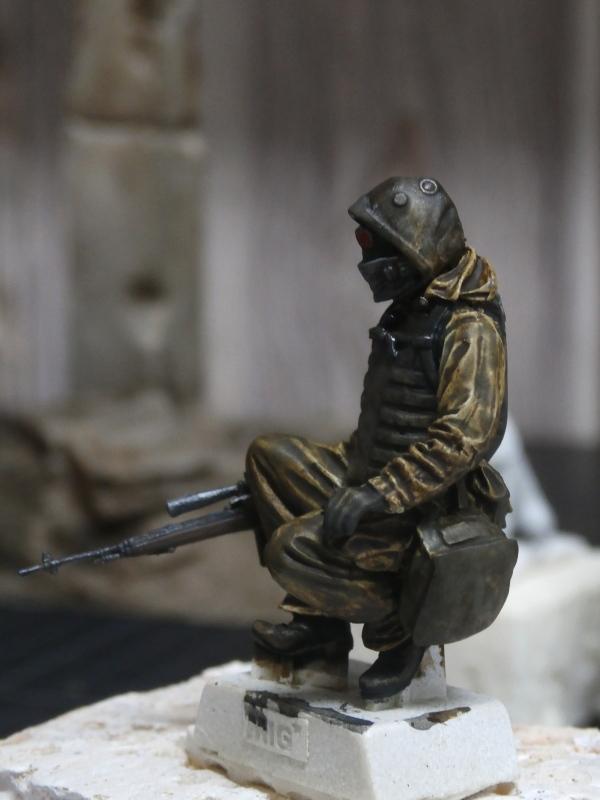 """""""Le guetteur"""" figurine Mig modifiée 1/35 (FINI) P3300011"""