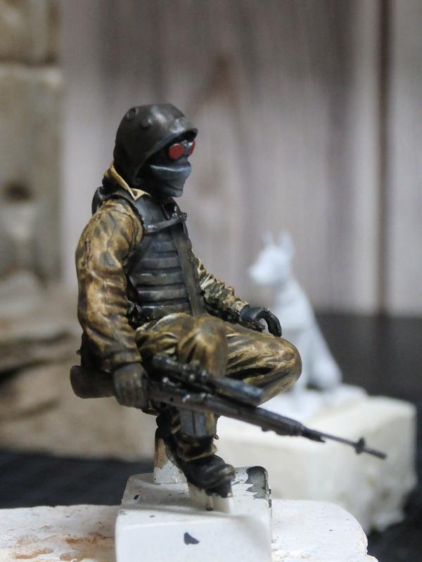 """""""Le guetteur"""" figurine Mig modifiée 1/35 (FINI) P3300012"""