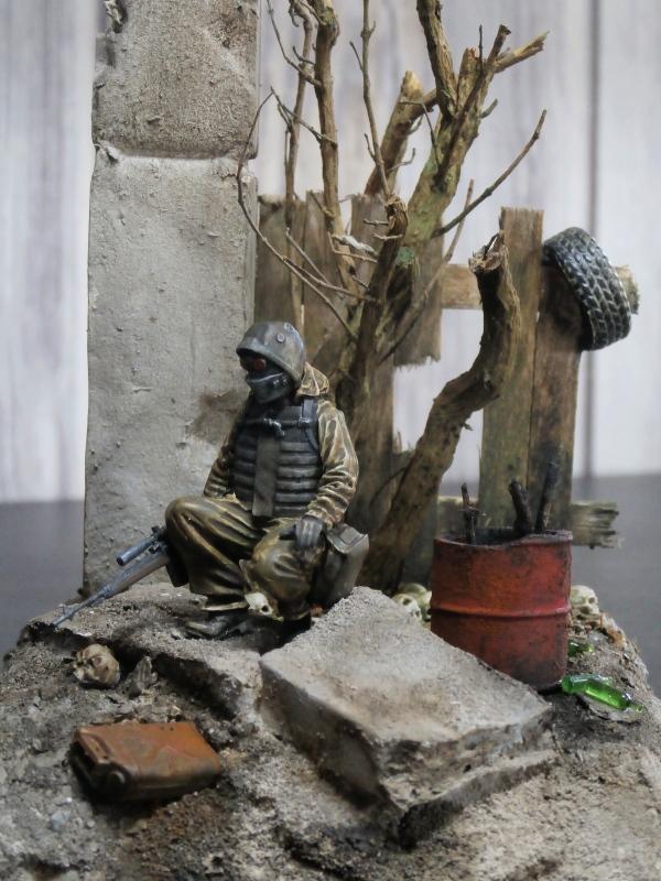 """""""Le guetteur"""" figurine Mig modifiée 1/35 (FINI) - Page 2 P3310013"""