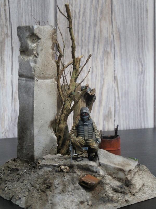 """""""Le guetteur"""" figurine Mig modifiée 1/35 (FINI) - Page 2 P3310014"""
