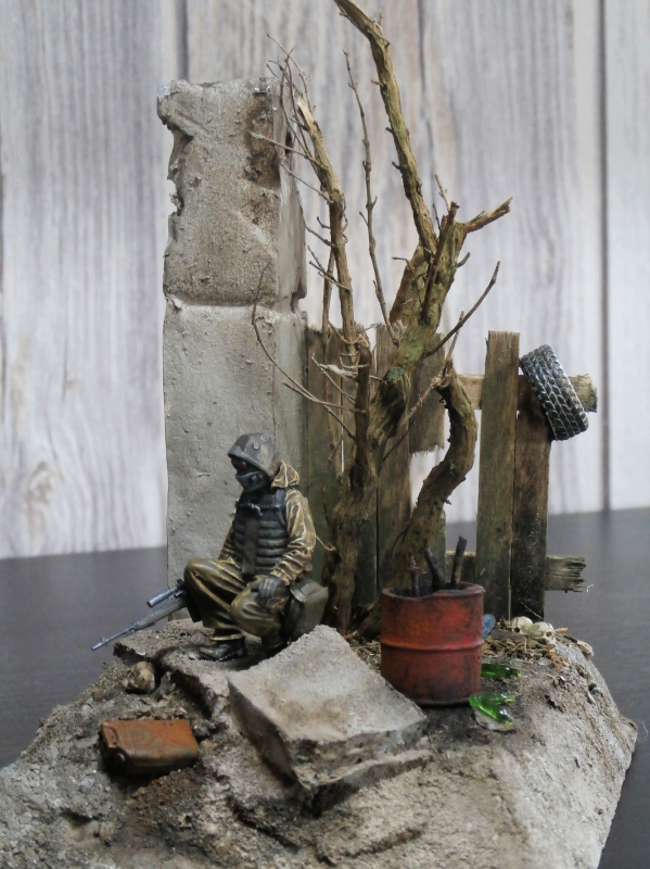 """""""Le guetteur"""" figurine Mig modifiée 1/35 (FINI) - Page 2 P3310015"""