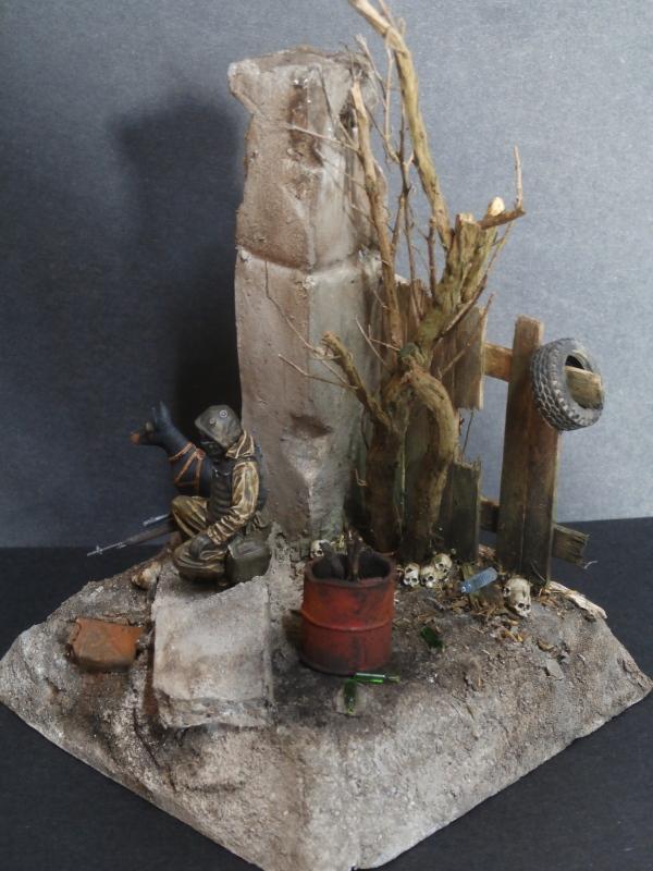 """""""Le guetteur"""" figurine Mig modifiée 1/35 (FINI) - Page 2 P4010010"""