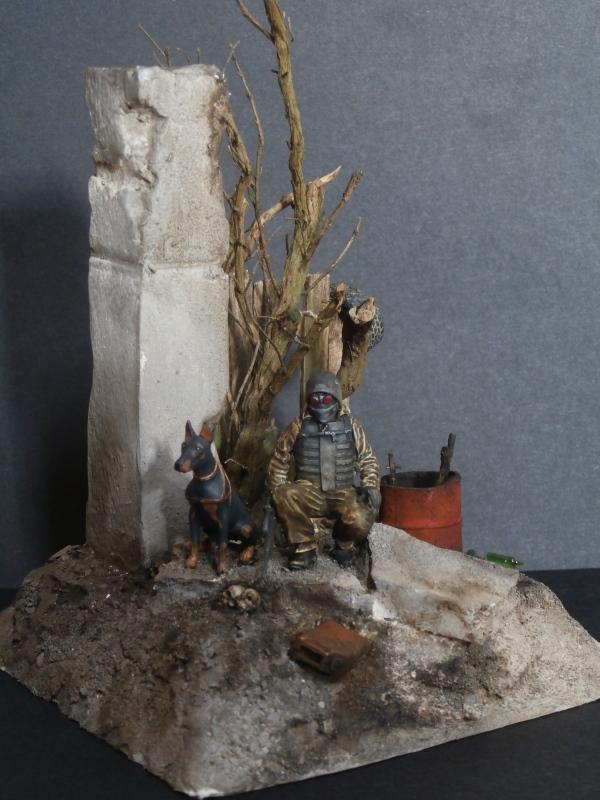 """""""Le guetteur"""" figurine Mig modifiée 1/35 (FINI) - Page 2 P4010011"""