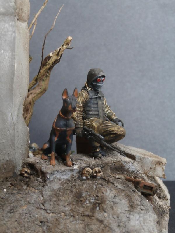 """""""Le guetteur"""" figurine Mig modifiée 1/35 (FINI) - Page 2 P4010012"""