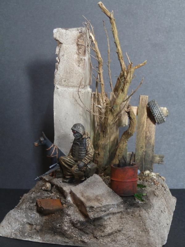 """""""Le guetteur"""" figurine Mig modifiée 1/35 (FINI) - Page 2 P4010013"""