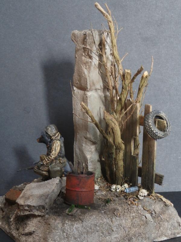 """""""Le guetteur"""" figurine Mig modifiée 1/35 (FINI) - Page 2 P4010014"""
