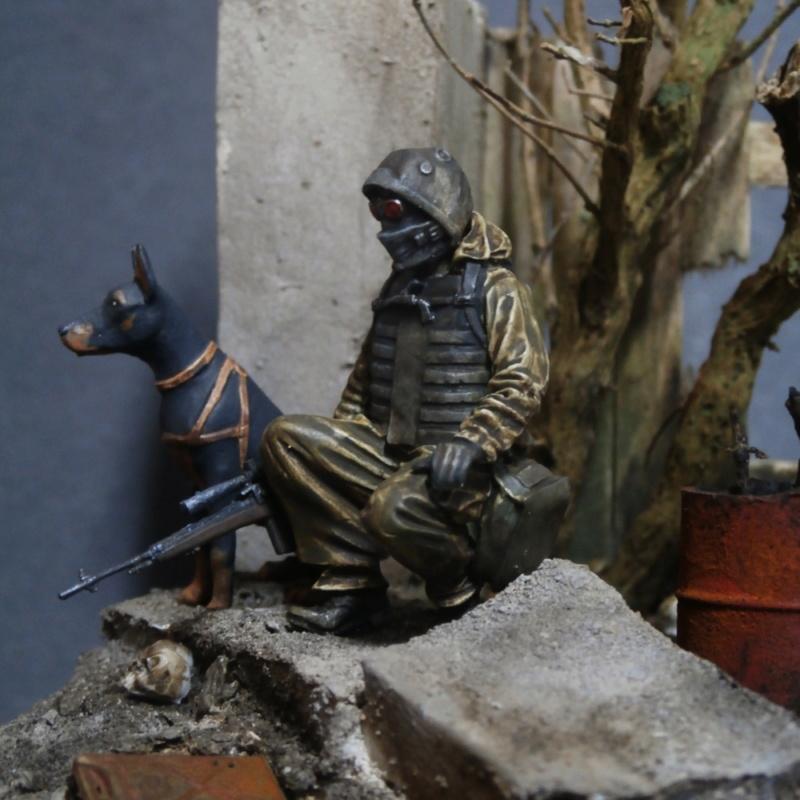 """""""Le guetteur"""" figurine Mig modifiée 1/35 (FINI) - Page 2 P4010015"""