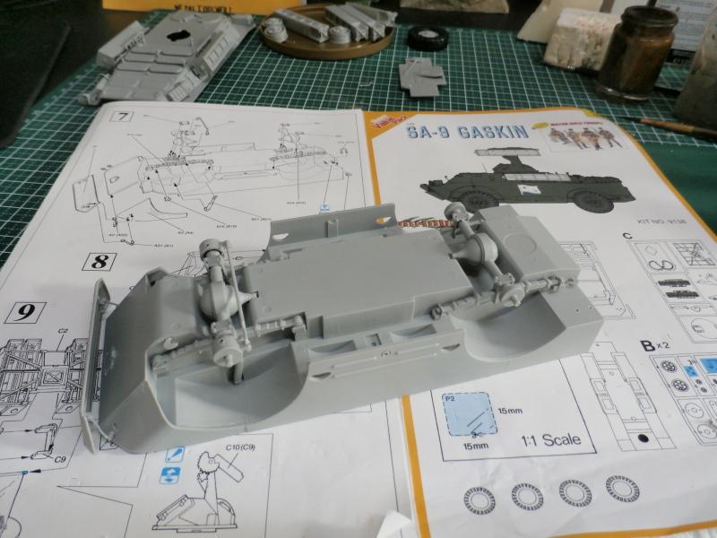 SA-9 Gaskin - Dragon 1/35 (FINI) P4110010