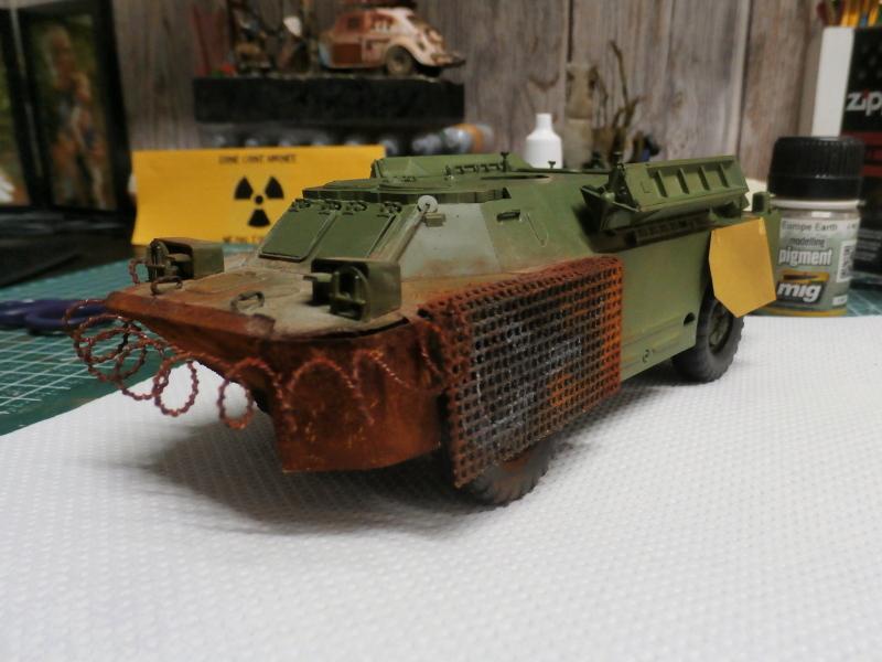 SA-9 Gaskin - Dragon 1/35 (FINI) P4110013