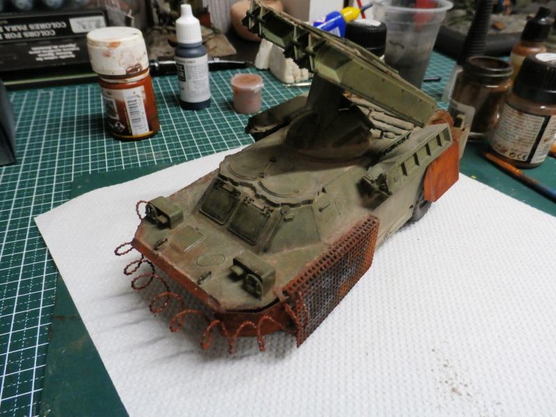 SA-9 Gaskin - Dragon 1/35 (FINI) - Page 2 P4120014