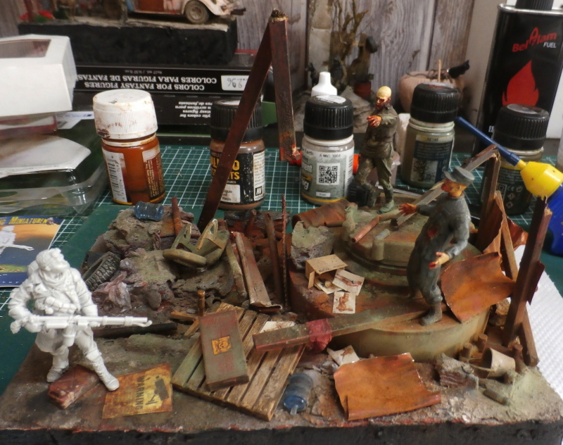 """The cleaner"" diorama 1/35 (FINI) P4190010"
