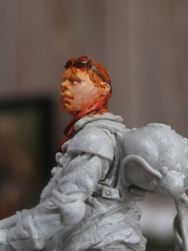 """The cleaner"" diorama 1/35 (FINI) P4200011"