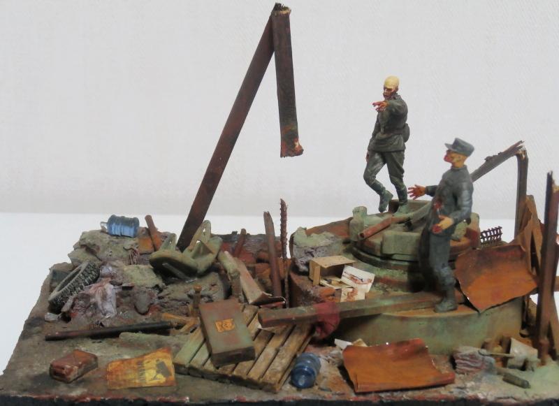 """The cleaner"" diorama 1/35 (FINI) P4200012"