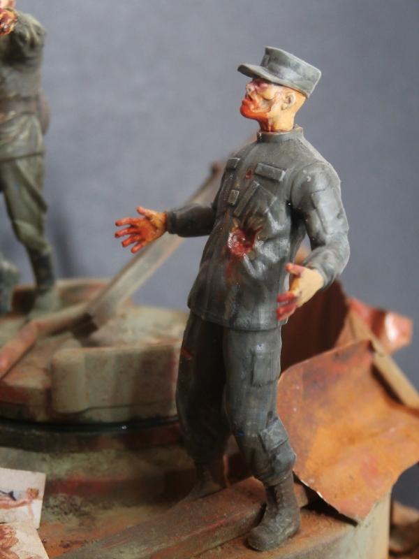 """The cleaner"" diorama 1/35 (FINI) P4220013"