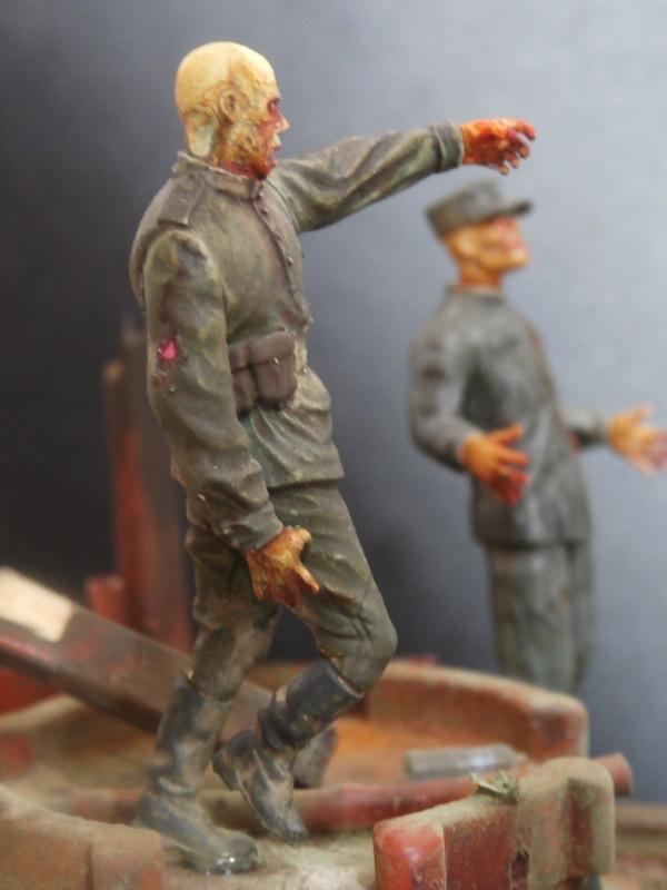 """The cleaner"" diorama 1/35 (FINI) P4220015"