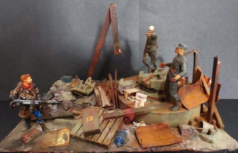 """The cleaner"" diorama 1/35 (FINI) P4220017"