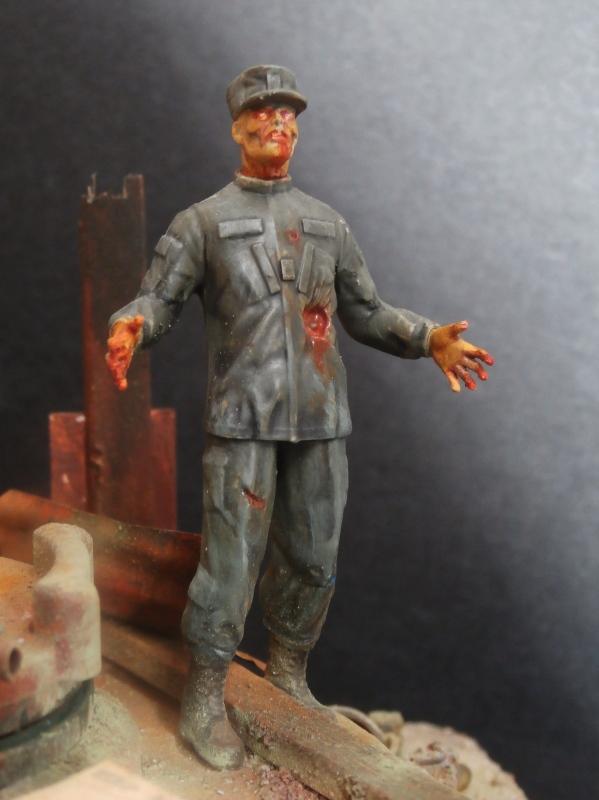 """The cleaner"" diorama 1/35 (FINI) P4220021"