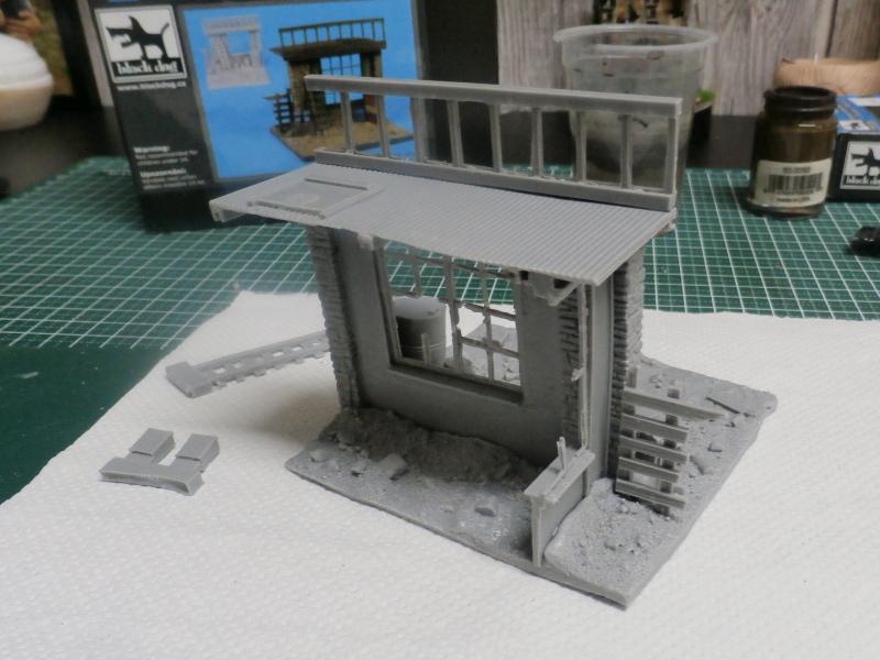 """House ruin"" Black Dog 1/35 (FINI) P5010019"