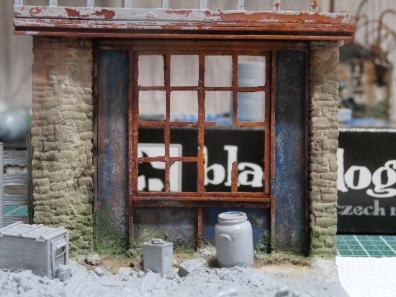 """House ruin"" Black Dog 1/35 (FINI) P5010024"