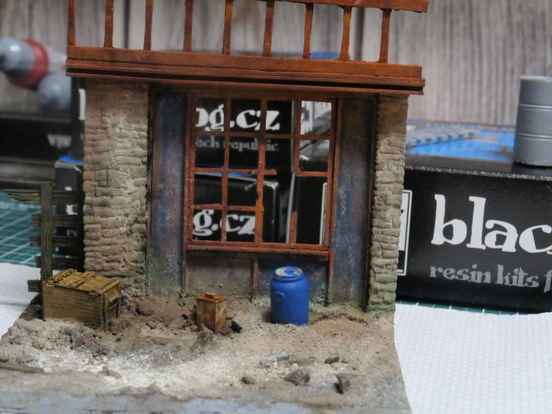 """House ruin"" Black Dog 1/35 (FINI) P5020010"
